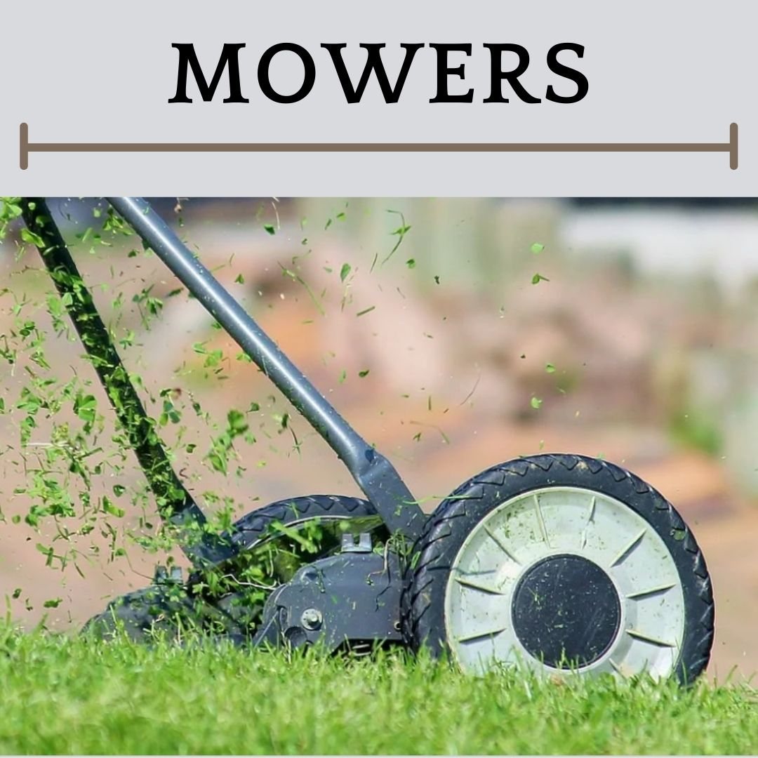 This is an image of a reel mower